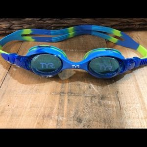 5/$15 TYR Youth Tie Dye Swimple  Goggles